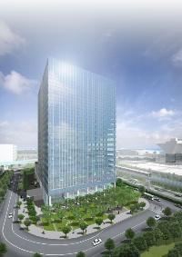 有明南プロジェクトの完成予想(資料:日本土地建物)
