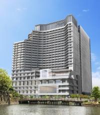 パレスホテル建て替え計画ホテル棟の完成イメージ(資料:パレスホテル)