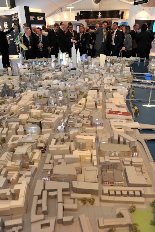 シティ地区の高層化など大型開発が続く(写真:MIPIM)
