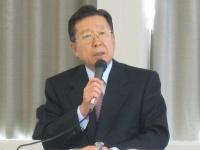 不動産証券化協会の岩沙弘道会長(三井不動産社長)