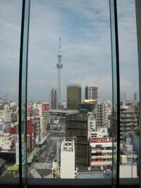 13階ロビーフロアからの眺め