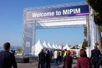 13日に開幕したMIPIMの会場(写真:本誌)