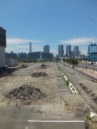 千客万来施設(6街区)の建設予定地